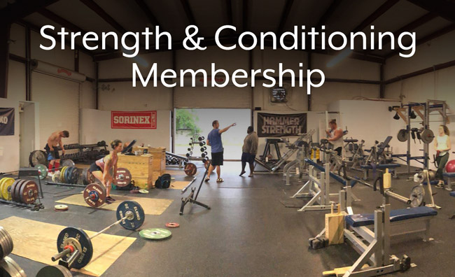 Strength and Conditioning Gym Membership